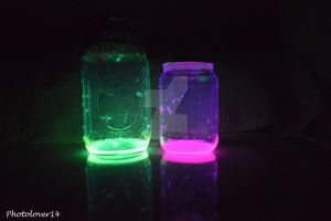 Glow jars (8) by photolover14