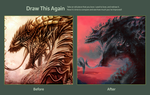 Draw This Again: Red Dragon by TwoDD