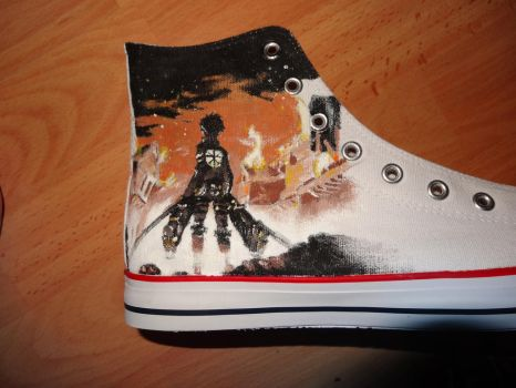 SNK Shoes by OutlawNuukii
