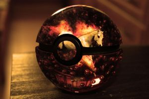 The Pokeball of Rapidash by wazzy88