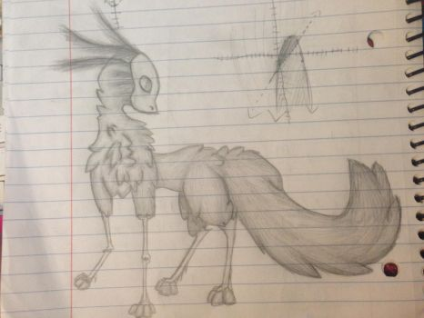 I was doodling in Science today :P by KatzRule28