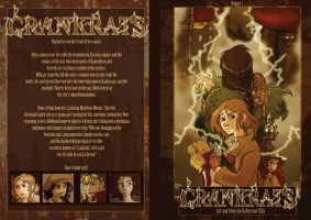 Crankrats Volume 1 cover by Sio64
