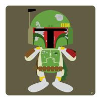 boba fett by striffle