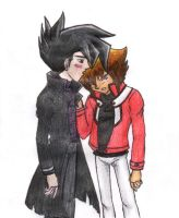 aww, Chazz and Jaden by fedishi