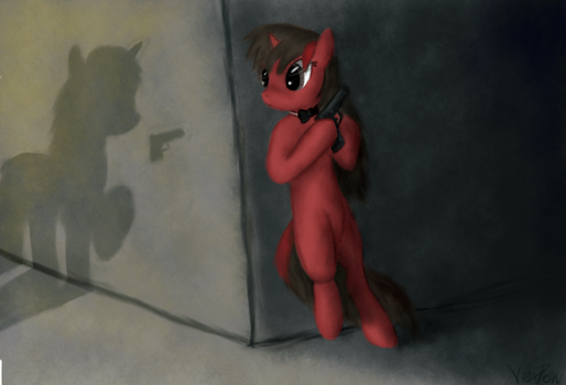 Agent Scare by VexPon