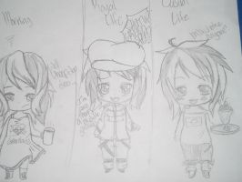 Chibi Green Speed's average life in three phrases by Greenland-Angelica-J