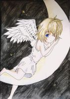 Moon angel by mirimitosa