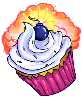 Atomic Cupcake by SuperSibataru