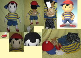 Ness plush doll by Pwnchy