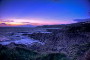 Seaside Sunset by Parmiter