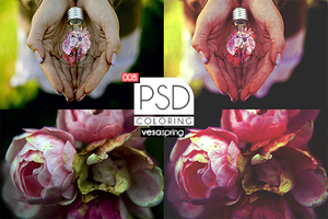 PSD Coloring 008 by vesaspring