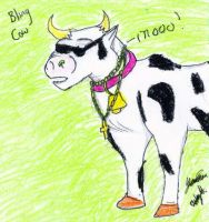 Bling Cow by Nyiana-sama