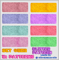 PATTERN SET 003 - Glitter by AndreeaArsene