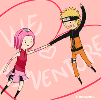 We love adventure by Dafne0292