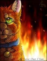 Fire Alone Can Save Our Clan... 2014 by MeggisWolf