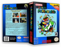 Super Mario World Custom Cover by TuxedoMoroboshi
