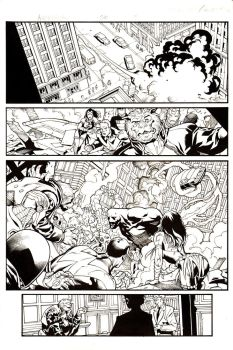 AVENGERS issue #56 page #5 by Ray-Snyder