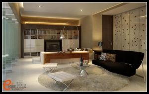 living room, Pangandaran HD by cuanz