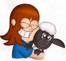 OH MY GOSH A SHEEP! by PuccaFanGirl