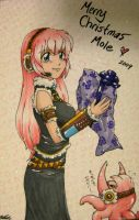 Luka love for Moley by EvilChibiNic