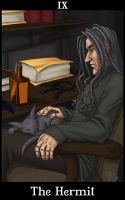 HP Tarot - The Hermit by madcarrot
