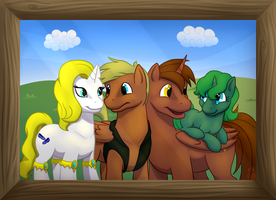 Commission: Family Photo by Shrineheart