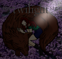 Jacob and Renesmee by FlyingPrincess