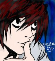 L from death note by synyster696