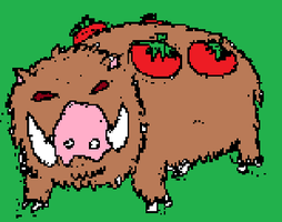 Jan.19 (dailydraw) Pigs by Rayleighev