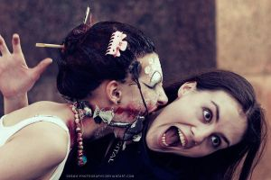 zombie geisha 5 by gremo-photography