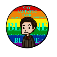 Gay Fantastic Four - Blaine by TanjaSumer