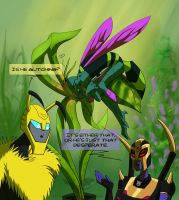 Waspinator's Orchid by JazzTheTiger