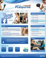 Layout - Academia Plataforma by lcdesigner