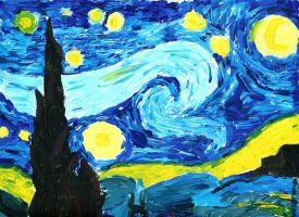 "Van Gogh's ""Starry Night"" by Rixshaw"