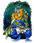 The frog prince by darksilvania