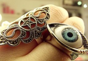 Eyeball Ring by KikiMJ