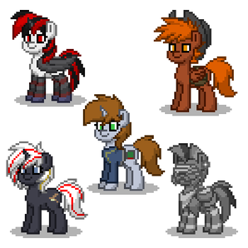 Pony Town : Fallout Equestria by VenomBronyPL
