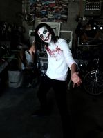 Jeff The Killer - A Striking Pose by Covest