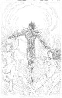 Fathom: The Elite Saga #4 Cover Pencils by vmarion07