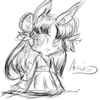 Aimi the Bunny Girl by compassrose0425