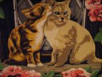 Kissing Cats by MadeByJanine