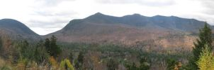 Kancamagus Overlook Panorama by ShadeDK
