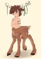 Monster Falls Dipper by Drawing-Heart