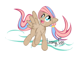 My MLP OC - Loony Loo by Moovery