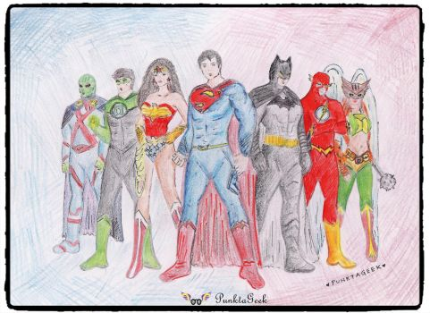 Justice-league by PunktaGeek