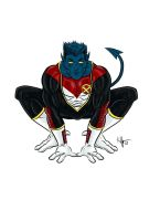 -Astonishing Nightcrawler- by Kaufee
