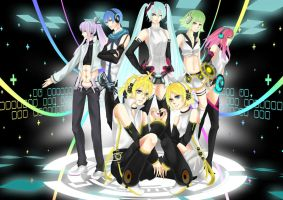 APPEND [VocaFusion Art Competition Entry] by mono-tone
