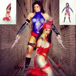 Ann Titone is Psylocke-Elektra, Thanks Beko2010 by zenx007
