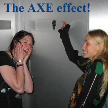 The AXE effect by RiverRaven