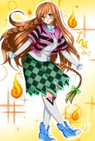 Ina OC by Debie - Prize for contest by ilovetheanime